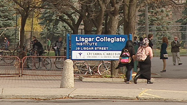 Students at Lisgar Collegiate say they suffer from boredom at lunchtime as teachers take selective job action in protest to Bill 115.