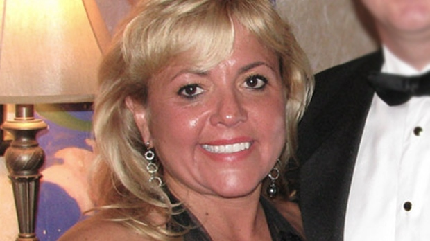 Pembroke dentist Christy Natsis is charged in the death of 50-year-old Bryan Casey Thursday, March 31, 2011.