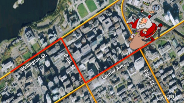 Downtown Ottawa's Santa Claus parade starts on Wellington Street and works its way to City Hall starting at 11 a.m. Saturday, Nov, 17, 2012.