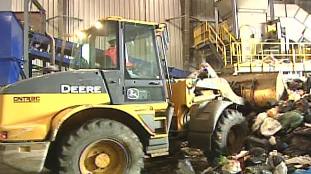 Plasco said they hope to start building a full garbage-to-energy plant in June 2013.