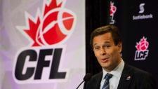 CFL Commissioner Mark Cohon