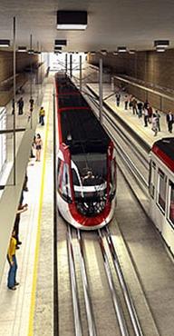 Ottawa LRT St. Laurent