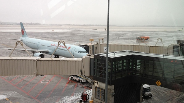 Ottawa Airport Freezing Rain