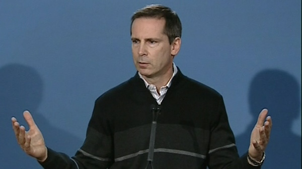 Premier Dalton McGuinty reacts to the Stacy Bonds case in Ottawa, Friday, Nov. 26, 2010.