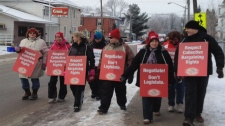 Renfrew teachers one-day strike