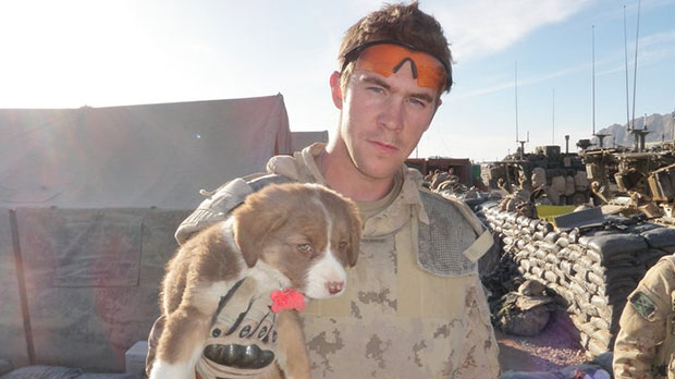 Adam Picard at one time served with the military in Afghanistan.