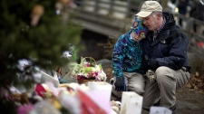 Mourning victims in Newtown shooting