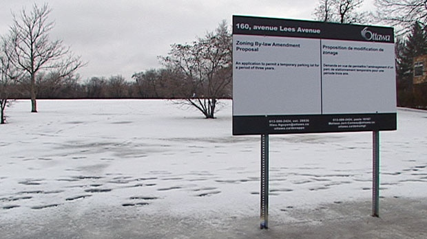 Ottawa LRT Lees Avenue