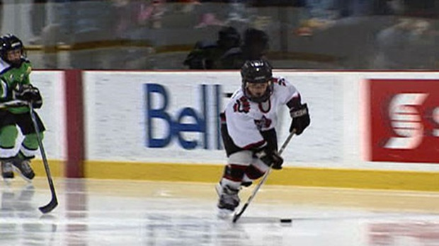 bell capital cup, canada minor hockey