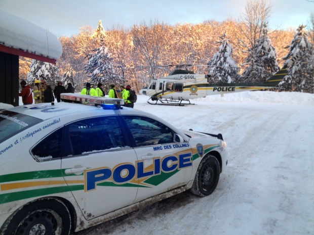 Four people found after getting lost in Gatineau