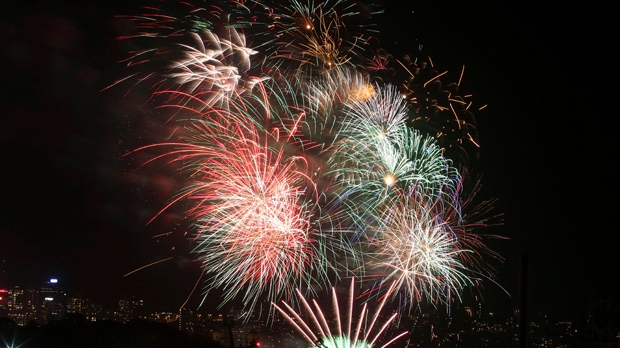 New Year's Eve Sydney Australia fireworks