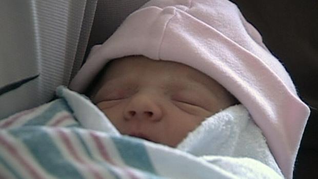 CTV Ottawa: Ottawa's first baby of 2013