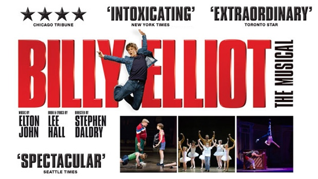 "The National Arts Centre in Ottawa is home this week to the touring Broadway musical ""Billy Elliot"""