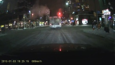 STO bus runs red light