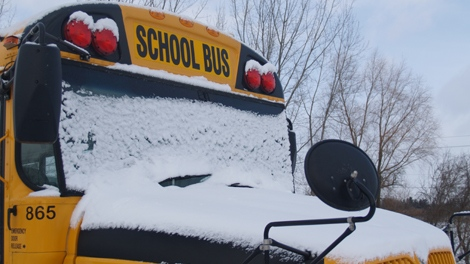 snow day bus cancelled