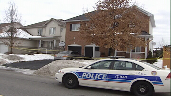 Police investigate double murder/suicide at Stittsville home.