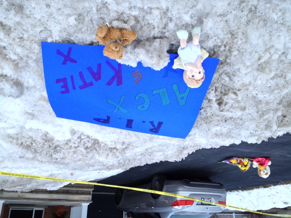 Stittsville mourns the loss of Alex Corchis, 10 and Katheryn Corchis, 6.
