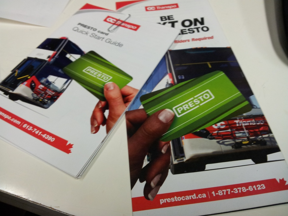 Don Masters of Mediaplus Advertising says the company used the same stock photograph on an OC Transpo Presto card brochure to reflect diversity, but will not confirm which hand was lightened or darkened.