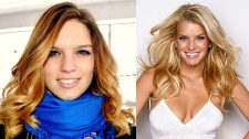 Jessica Simpson look-a-like Blair Smith