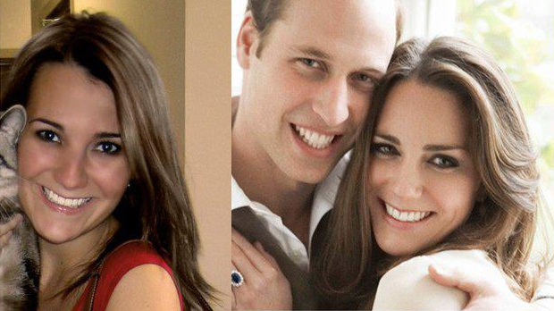 Kate Middleton look-a-like Julie Larochelle Briere