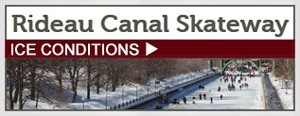 Rideau Canal Skateway - Ice Conditions