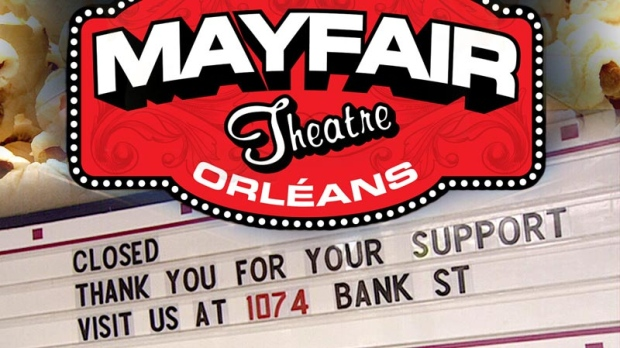 Mayfair Theatre Orleans closed