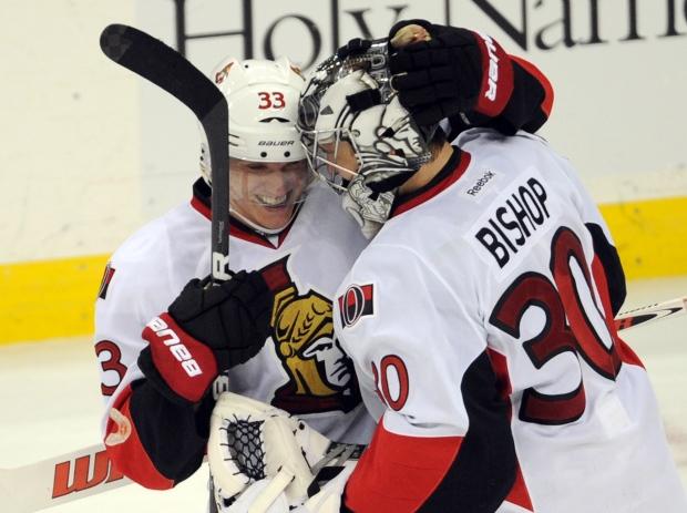 Ottawa Senators' Jakob Silfverberg