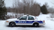 Ottawa Police on scene at North Gower home