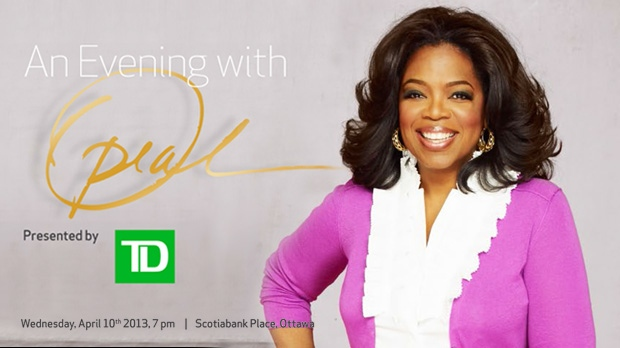 Oprah Winfrey to appear in Ottawa for an Inspirational Evening