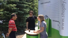 Shopify sets up job recruitment kiosk at IBM