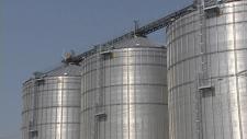 silos, grain