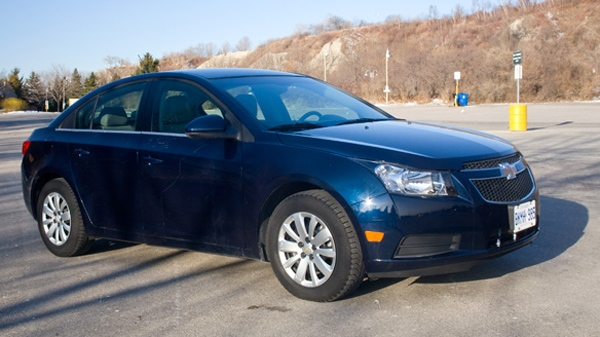 gm recalls chevy cruze over transmission problems ctv. Black Bedroom Furniture Sets. Home Design Ideas