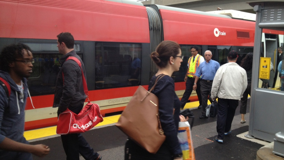 Riders are back on the O-Train after a four-month service disruption.