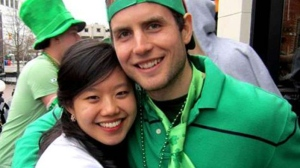 Joanna Lam and Connor Hayes are seen in this undated photo.