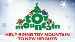Help bring Toy Mountain to new heights