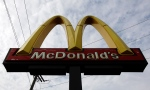 A McDonald's restaurant sign is seen at a McDonald's restaurant in Chicago, Friday, Oct. 4, 2013. (AP / Nam Y. Huh)