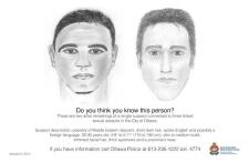 Sexual assault suspect, Ottawa