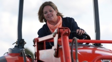 Ont. election rivals jump on tractors to court farm vote