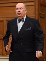 Justice Marc Nadon arrives to appear before a parliamentary committee on Parliament Hill in Ottawa on Wednesday, October 2, 2013, regarding his nomination of Supreme Court of Canada Justice. THE CANADIAN PRESS/Sean Kilpatrick