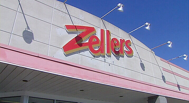 Zellers reopens in Ottawa on Thursday, Apr. 3, 2014.