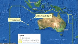 Material on Australian shore being examined in search for MH370