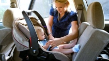 Installing child car seats correctly crucial for childrens' safety
