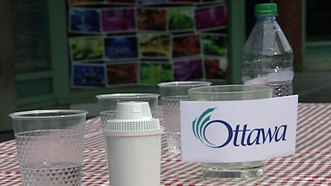 Ottawa's drinking water was picked by the majority of samplers as the best-tasting option.