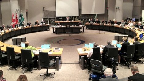 Councillors meet to finalize 2012 budget