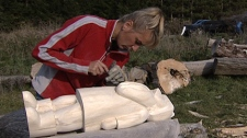 Regional Contact: The Chainsaw Lady of Dunvegan - Gerdine van Woudenburg