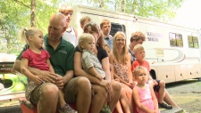 CTV Ottawa: Meet the family of 14 travelling around in their RV