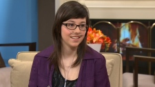 Helene Campbell appears on CTV's Canada AM, Tuesday, Jan. 31, 2011.