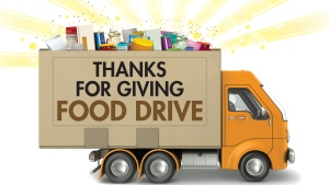 Be a part of the 2014 Thanks for Giving Food Drive!