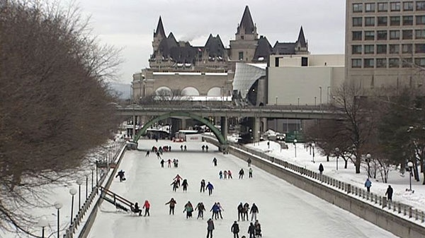 The full stretch of the Rideau Canal Skateway was open for the launch of Winterlude on Feb. 3, 2012