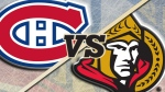 Ottawa Senators vs. Montreal Canadiens